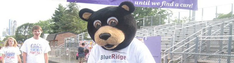 Baxter at American Cancer Society Relay for Life